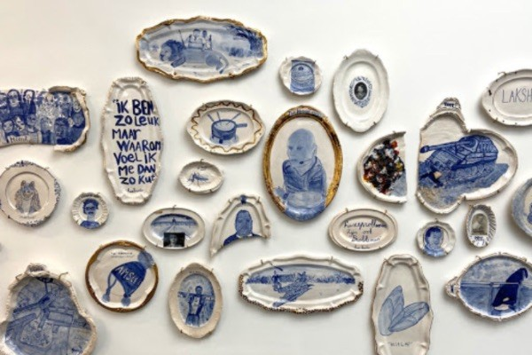 Koos Buster Stroucken kunstenaar Young Collectors Circle