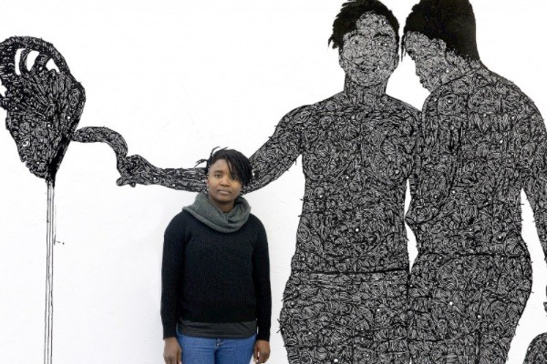 Tyna Adebowale kunstenaar Young Collectors Circle