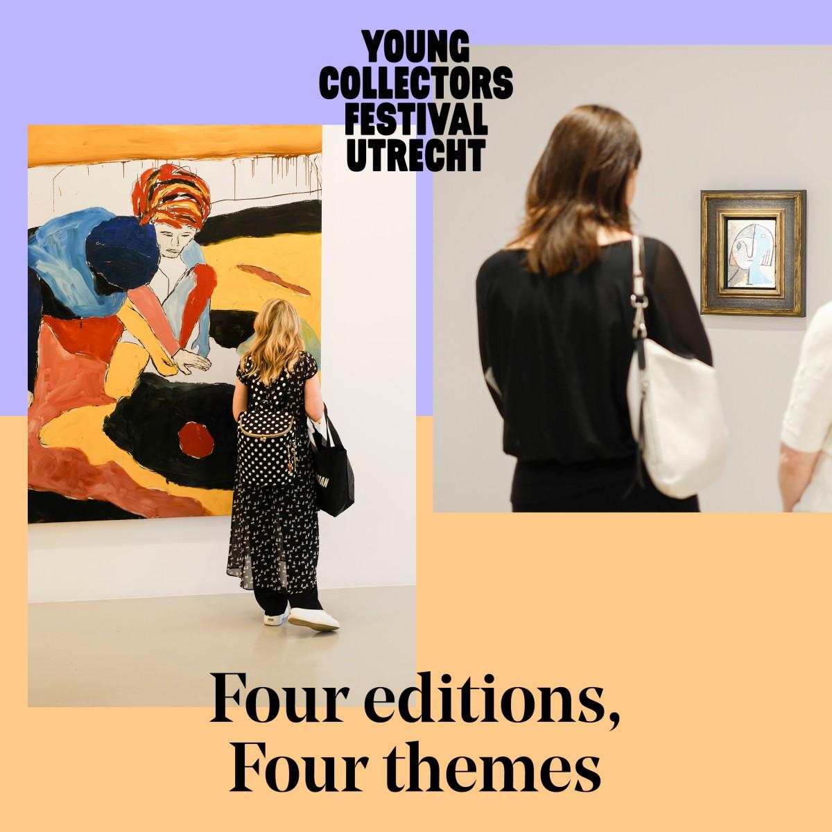 Young Collectors Circle Festival Utrecht Kunst kopen kijken ontdekken verzamelen