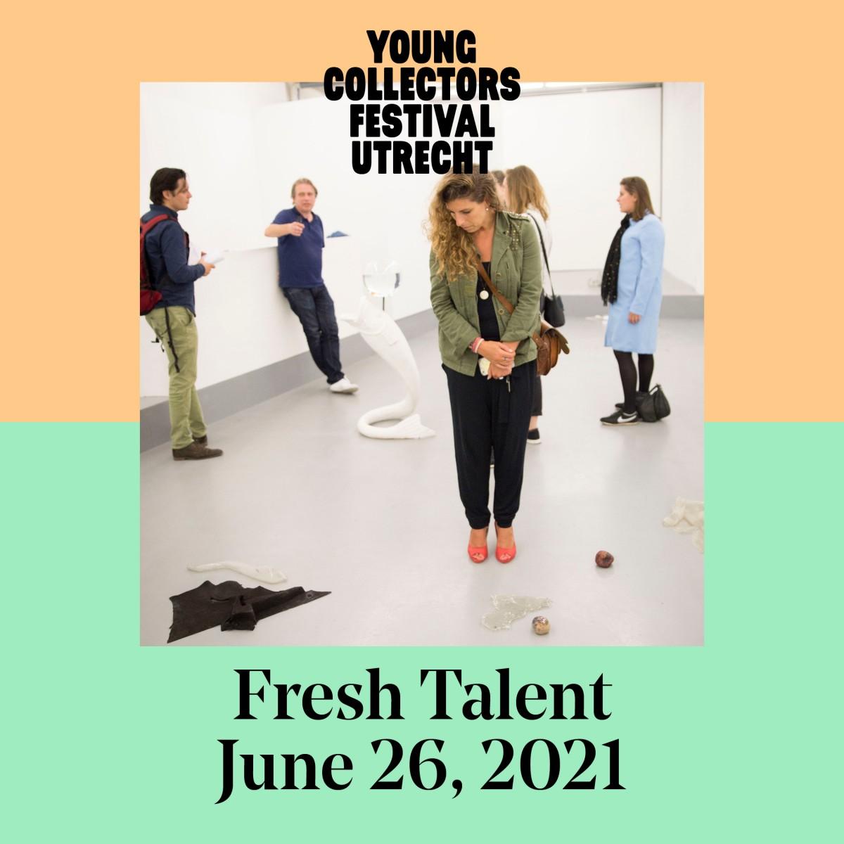 Young Collectors Circle Festival Utrecht Fresh Talent Kunst kopen kijken ontdekken verzamelen